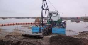 Управление электроприводом оперативных лебедок земснарядов