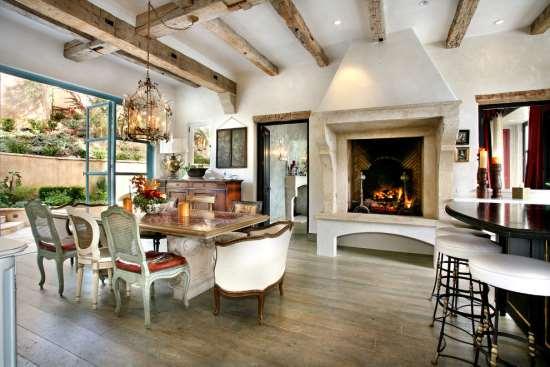 Дизайн интерьера дома в стиле кантри