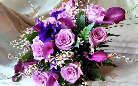 Подарки из цветов в Полтаве