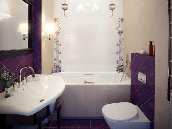 Рациональное оформление маленькой ванной