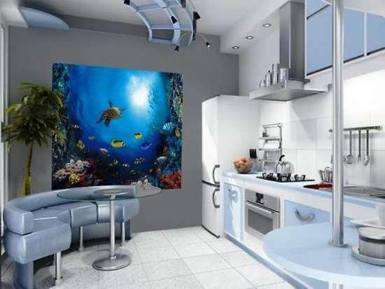 Общедоступные рекомендации о правильном выборе 3Д-обоев на кухню