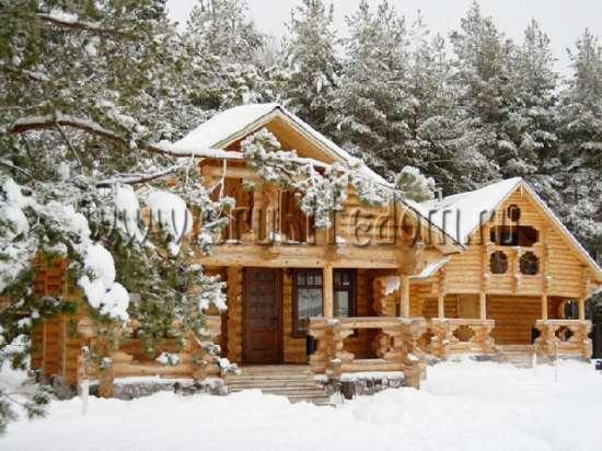 Деревянное строительство зимой - в чем преимущества такой услуги?