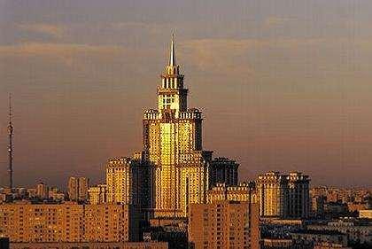 Высотное строительство на территории Москвы