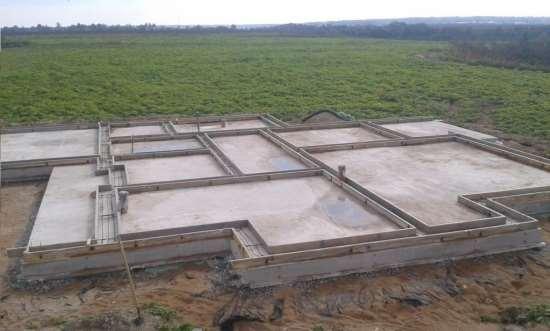 Стоимость строительства фундамента для загородного дома