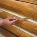 Как использовать герметик для швов и трещин в деревянном доме?