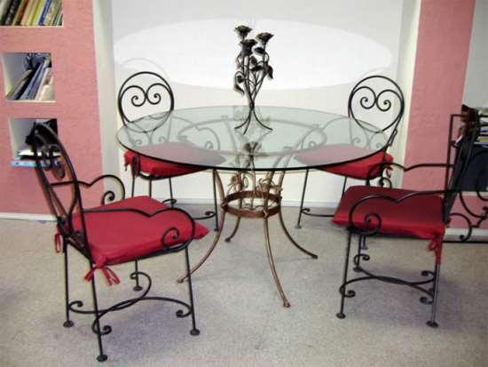 Кованые стулья в интерьере вашего дома и насколько это актуально?