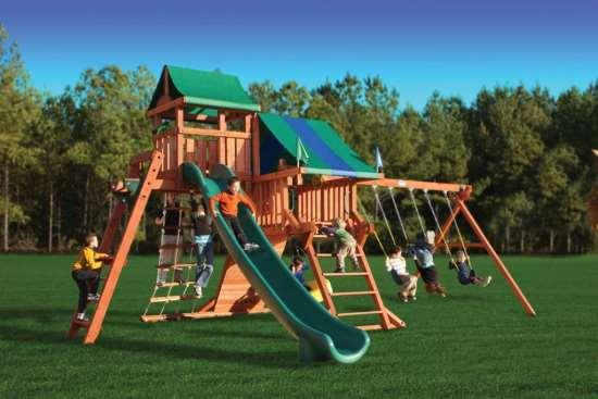 Игровая площадка - целый мир для ребенка