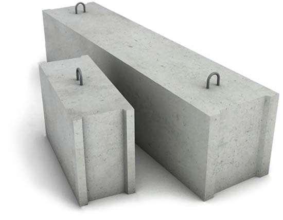 Фундаментные блоки ФБС: маркировка по ГОСТ, размеры