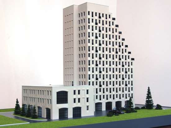 Архитектурные макеты зданий