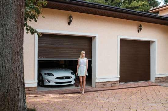 Выбираем лучшие секционные гаражные ворота