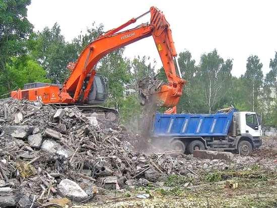 Как правильно складировать и вывозить строительный мусор