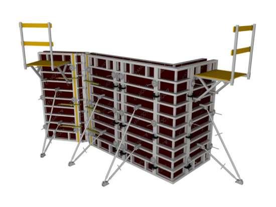 ООО «Кронос»: выгодная аренда опалубки для строительства