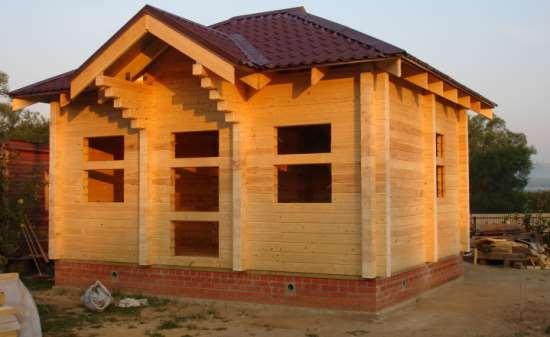 Как определить качество материала для строительства дома и бани из бруса