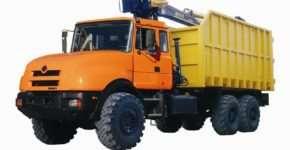 Металловоз для погрузки, транспортировки и разгрузки металлических отходов
