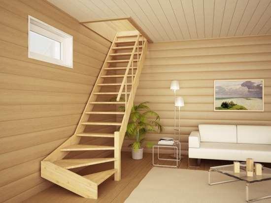 Лестницы деревянные фото своими руками