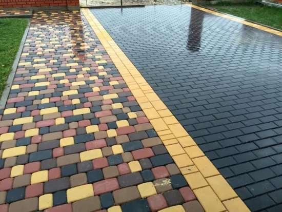 Спецжелезобетон – тротуарная плитка в различных формах и расцветках