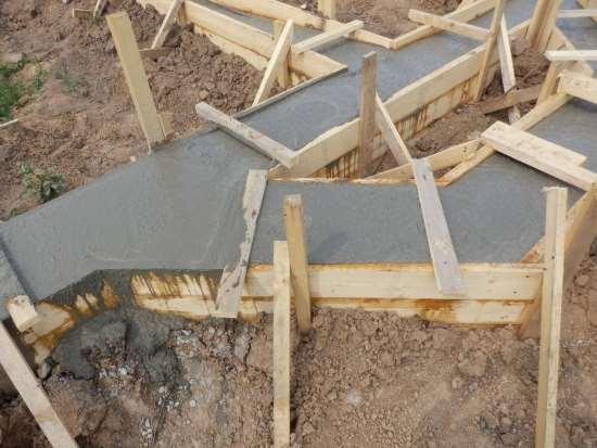 Как залить фундамент под строительство дома 58