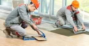 Строительные и отделочные работы