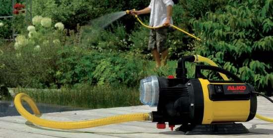 Выбор водяного насоса для полива – что важно знать