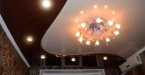 Натяжные потолки – наиболее весомые преимущества