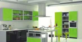 Кухонный гарнитур основы выбора