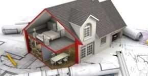 Планирование строительства будущего дома и его возведение