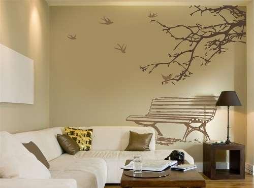 Использование орнамента при декорировании стен и потолка в доме