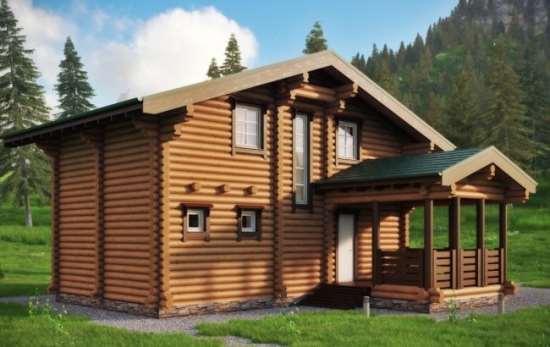 Множество очевидных преимуществ домов из бревна