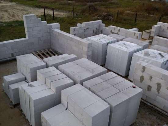 Блоки из газобетона – причины популярности в строительстве