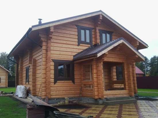 Дома из лафета – нежность, долговечность и экономичность