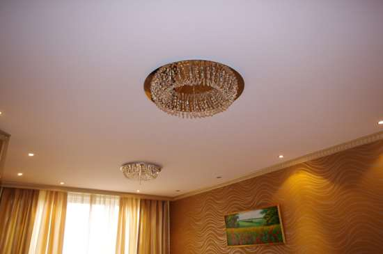 Важные характеристики тканевых натяжных потолков