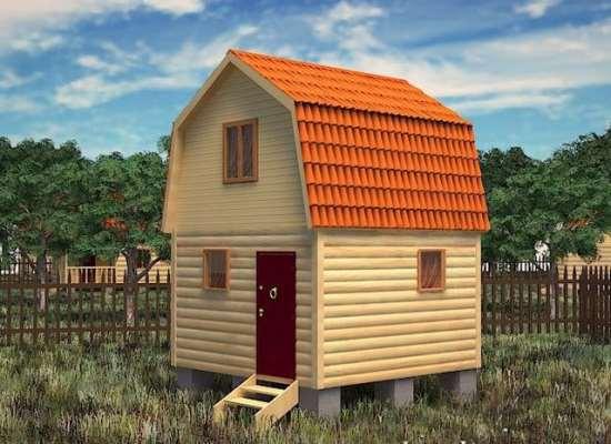 Как правильно подойти к выбору проекта типовой двухэтажной бани из бруса