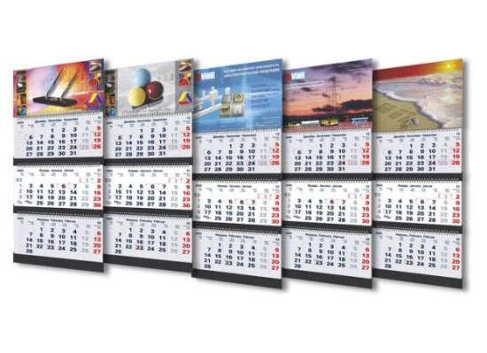 Каковы преимущества печати квартальных календарей