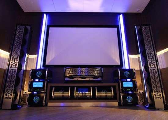 Особенности проектирования собственного домашнего кинотеатра