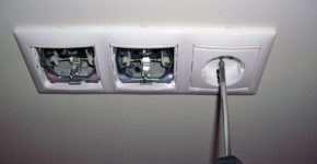 Рекомендации по скрытому монтажу розеток и выключателей