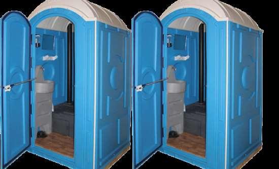 Важнейшие преимущества туалетных кабин