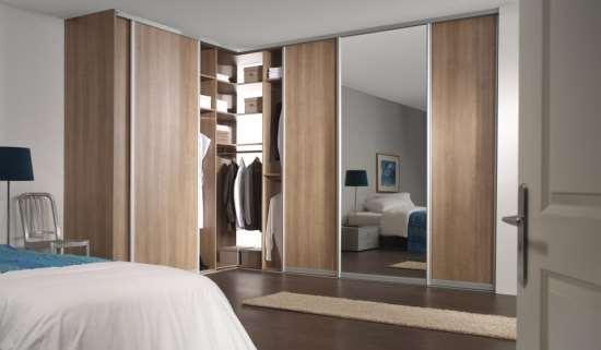 """Угловые шкафы высокого качества в спальню от фабрики """"АЛАИТ"""""""