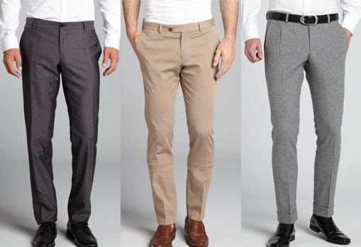 На что обратить внимание при выборе мужских брюк