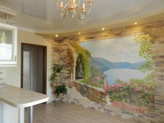 Фрески на стену или оригинальное декорирование помещений