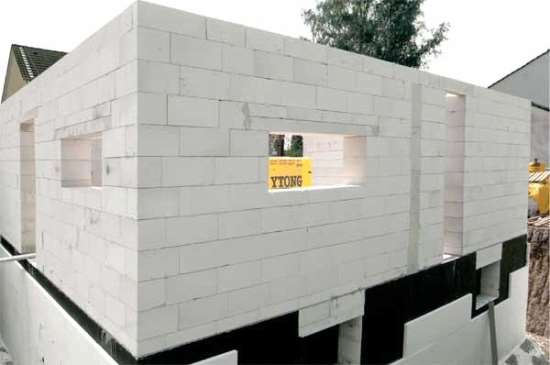 Особенности строения пеноблочных конструкций