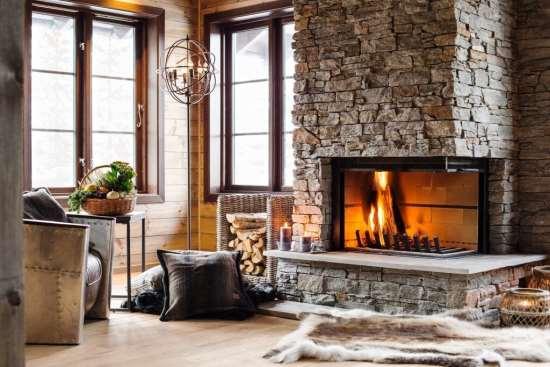 Камины в любой дом для красивого интерьера
