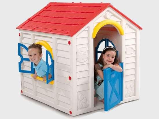 Пластиковые игровые домики – маленький сказочный мир для вашего малыша