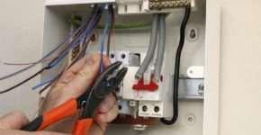 Правила ремонта бытовой электропроводки
