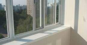 Использование алюминиевого профиля для остекления балкона
