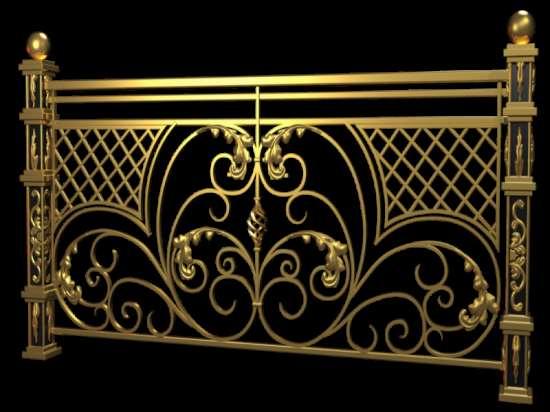 Стиль гранж: кованные изделия и классика
