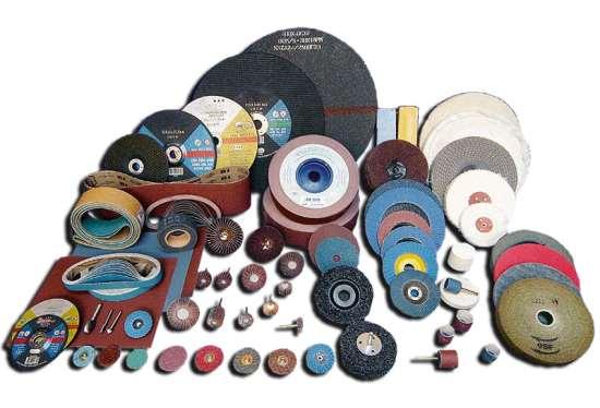 Популярные абразивные материалы и инструменты