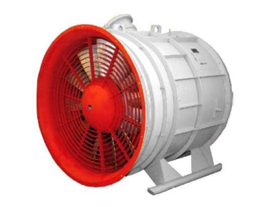 Центробежные (радиальные) вентиляторы с усредненными показателями давления