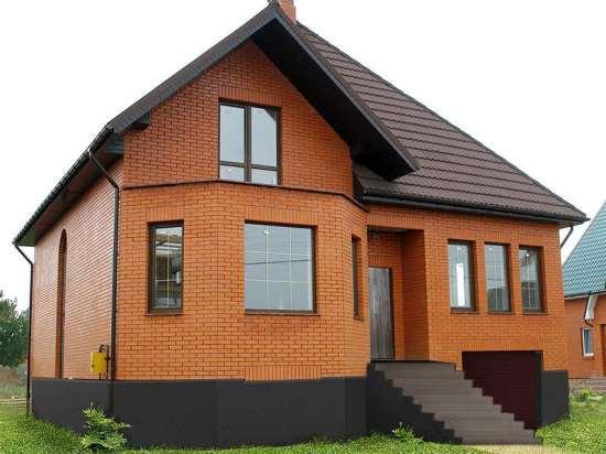 Строительство дома из кирпича: плюсы и минусы, основные этапы