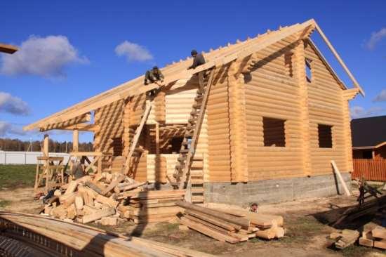 Все о поэтапном строительстве деревянных домов