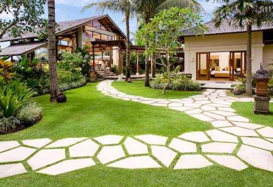 Выбираем подходящие формы для садовых дорожек